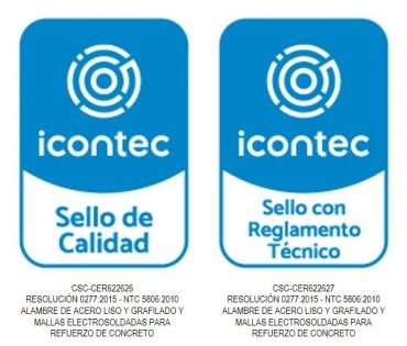 Logos ICONTEC Certificacion2